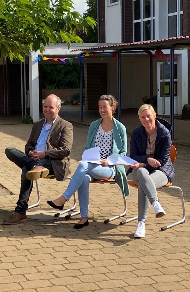 Herr Hoppe, Frau Bolte-Ahlers, Frau Krogmann-Bürgel